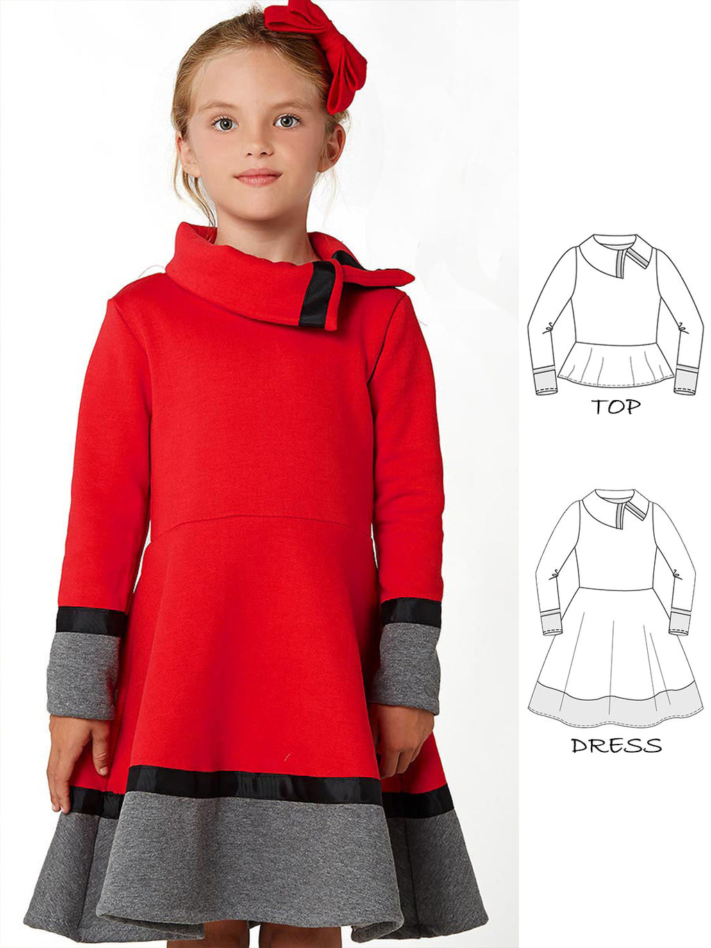 winter dress pattern