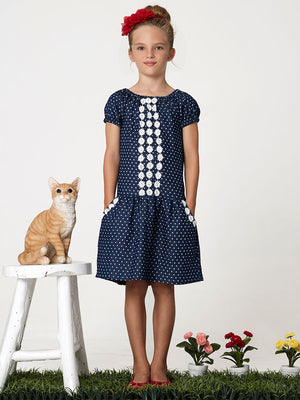 peasant dress pattern, girls sewing pattern