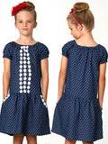 girls peasant dress sewing pattern