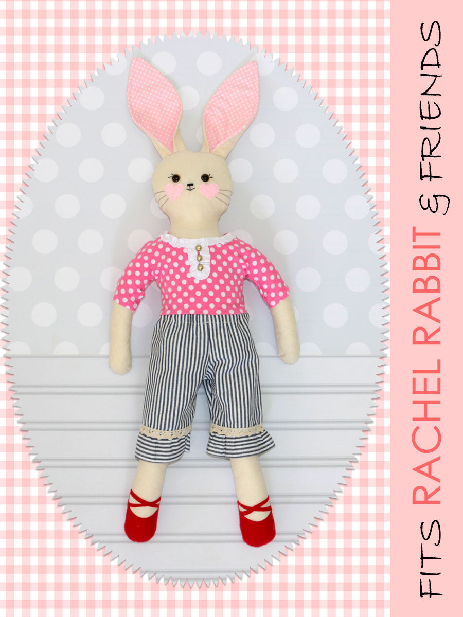 18 inch doll pants sewing pattern