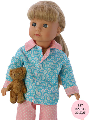 doll pajama pattern