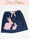 free easter skirt pattern
