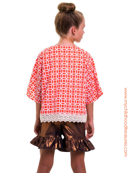 Free Sewing Pattern - Girls Kimono Jacket Pattern