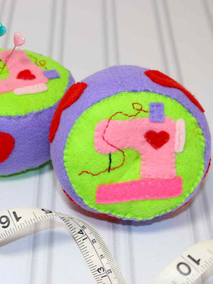free sewing pattern, pincushion pattern