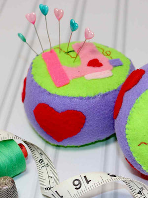 free pattern, pincushion sewing pattern