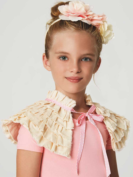 Free Sewing Pattern - Caprice Girls Capelet