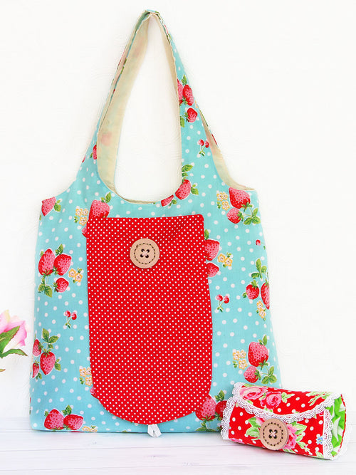 (B908) Georgie Foldable Bag Pattern