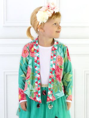 CARLY - Girls Cardigan Sewing Pattern - Stretch