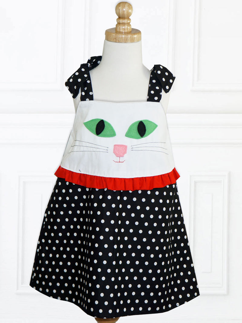 girls dress sewing pattern, costume pattern
