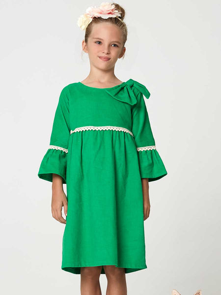 girls empire sewing pattern, girls dress pattern