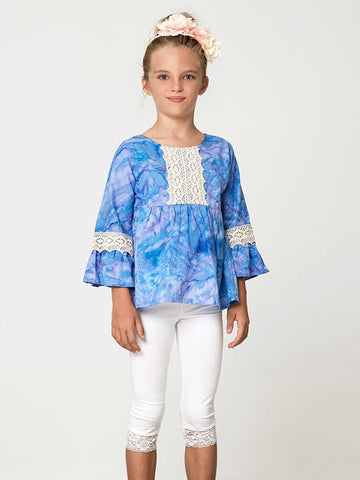 Anke top sewing pattern, tunic top