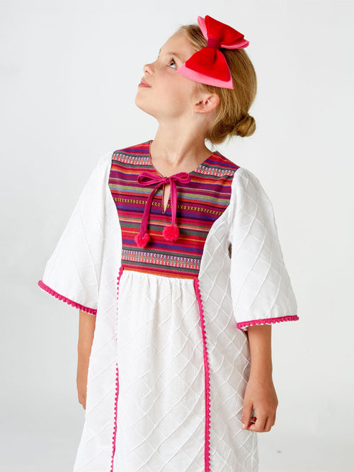 pretty dress pattern, kids pattern