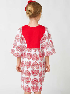 FLORENCE - Girls Tunic Dress and Top Sewing Pattern
