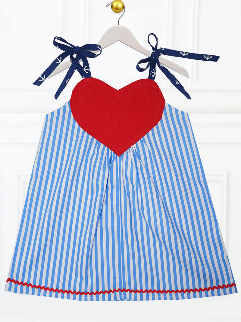 summer dress pattern, girls dress pattern, love dress