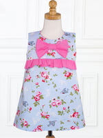 LUCY - Girls Dress Patterns - A-line Dress Pattern, Bow/Applique Pockets