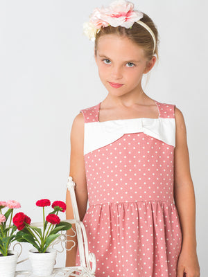 girls dress pattern, girls sewing pattern, summer dress pattern