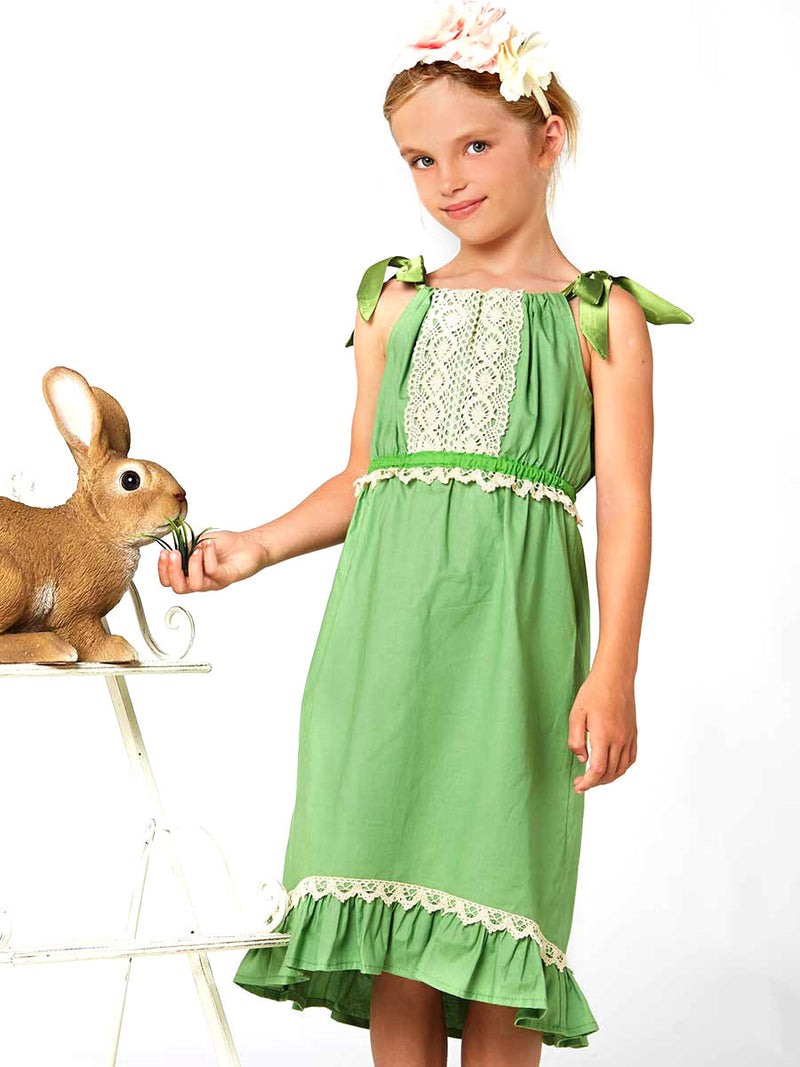 Riley dress girls digital downloadable PDF sewing pattern, learn to sew children's clothing, pillowcase dress pattern