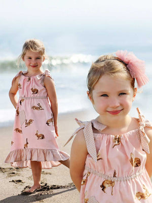 girls dress pattern, riley pillowcase dress pattern