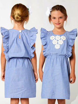 girls dress pattern Tiffany