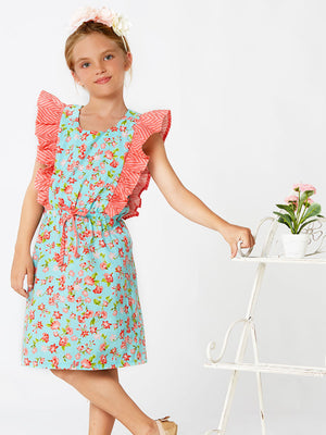 TIFFANY - Girls Dress Pattern, Top Sewing Pattern