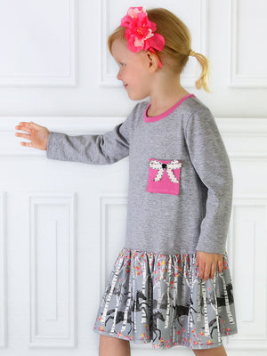 girls dress sewing pattern Winter