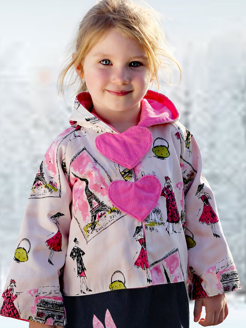 girls jacket sewing pattern