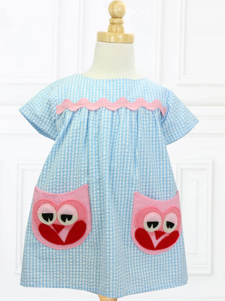 girls dress with pockets pattern
