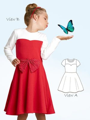 girls dress pattern Elise