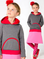 girls dress pattern, winter dress pattern