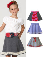 girls skirt sewing pattern