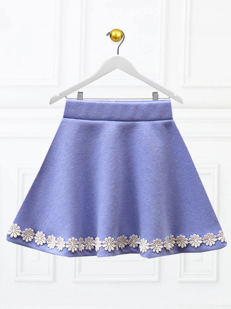 girls circle skirt pattern