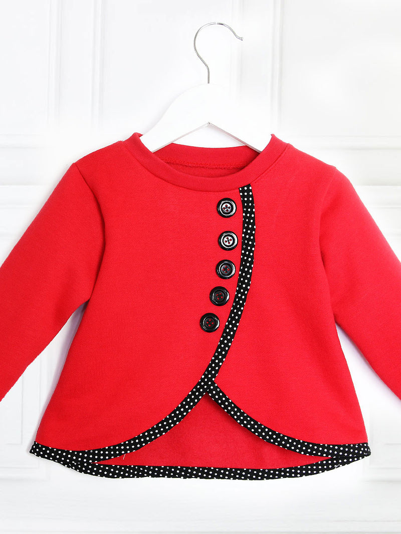 girls winter sewing pattern