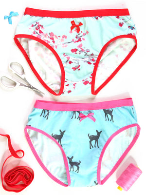 Girls Underwear Pattern (S511-L)
