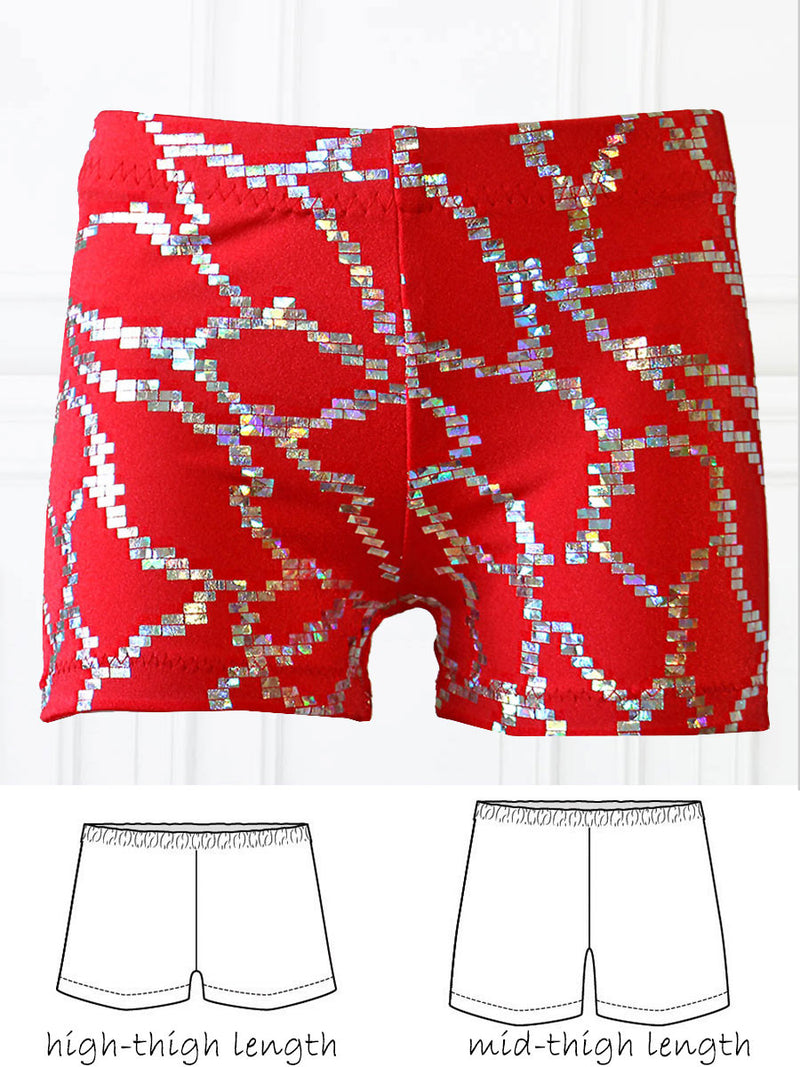 dance shorts pattern, dance pattern