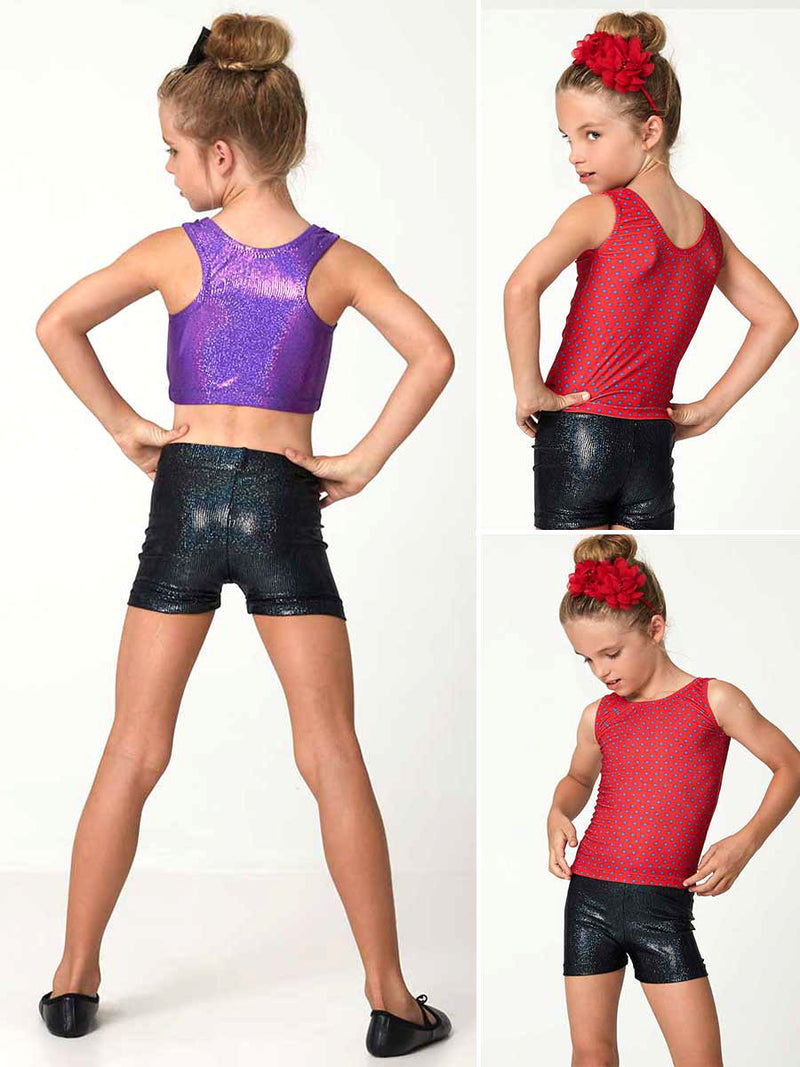 Tops Pattern - Girls Gym & Dance -  4 styles (S503)