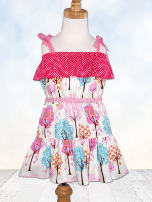 girls dress pattern, gypsy dress
