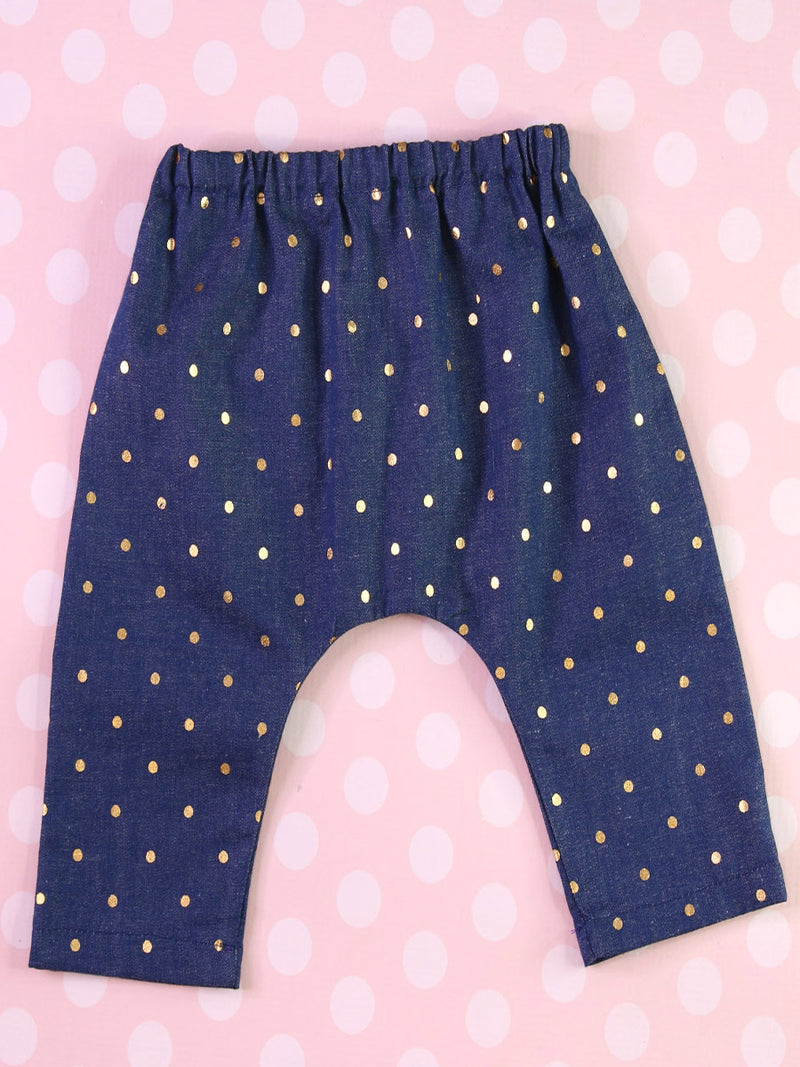 AVERY - Harem Pants Pattern (0-6T)