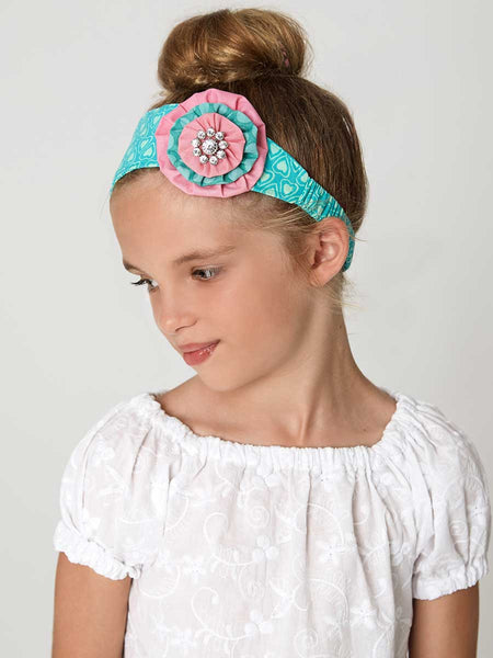 RETRO HEADBANDS - Girls Retro Headbands Sewing Pattern - Set of 3