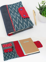 journal cover pattern, notebook cover pattern, diary cover pattern