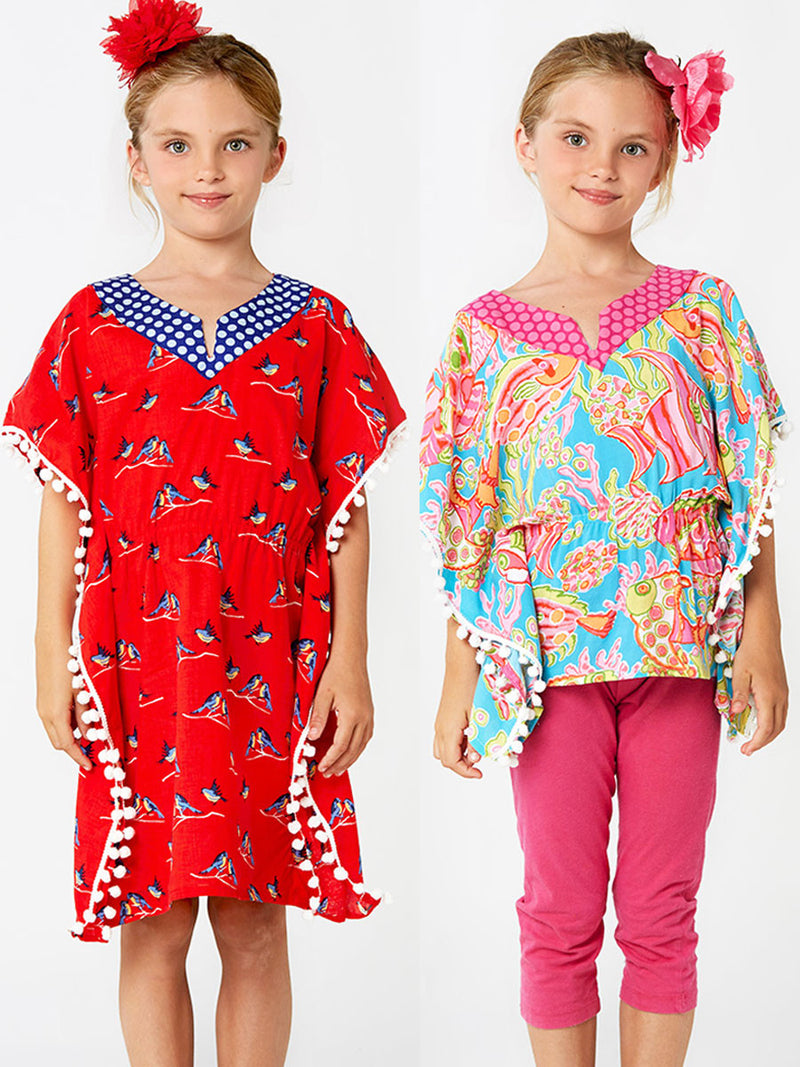 kaftan sewing pattern for girls