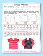 T-shirt - KIDS Semi Fitted (T501-L)
