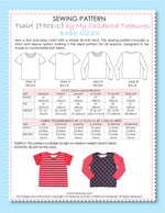 T-shirt - BABY Semi Fitted (T501-L)
