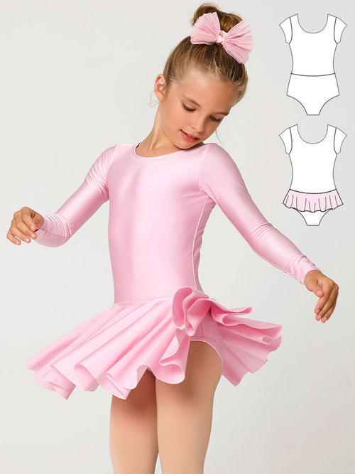 leotard patterns, dance patterns, LEOTARD #3