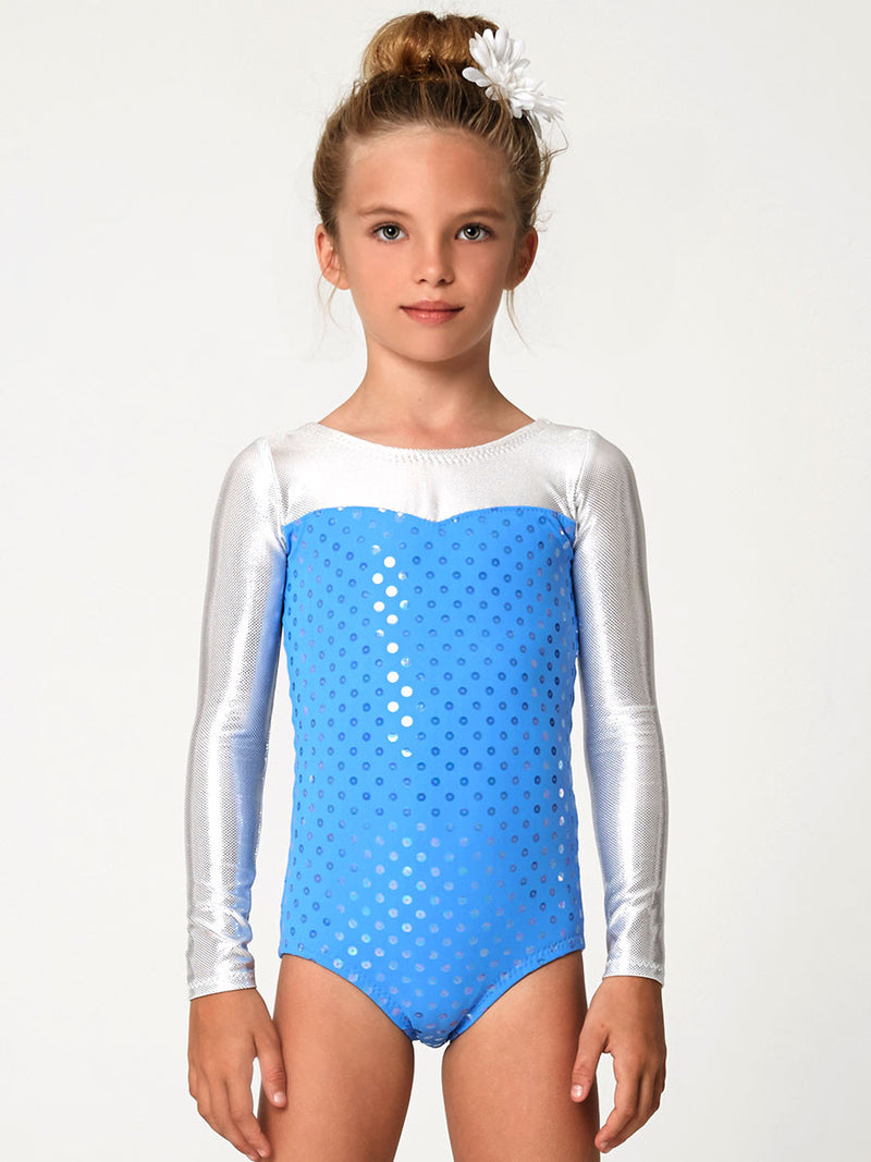 Leotard Patterns - LEOTARD #5 - Girls, Short & Long Sleeve (L505)