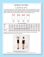 leotard pattern, leotard #6