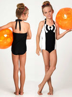swimsuit sewing pattern, girls swimwear pattern, retro vintage swimwear pattern