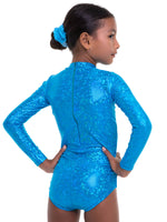 Leotard Patterns - LEOTARD #14- Girls High Neck (L514)