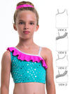 Tops Pattern - Girls Gym & Dance #3 -  4 styles (S507)