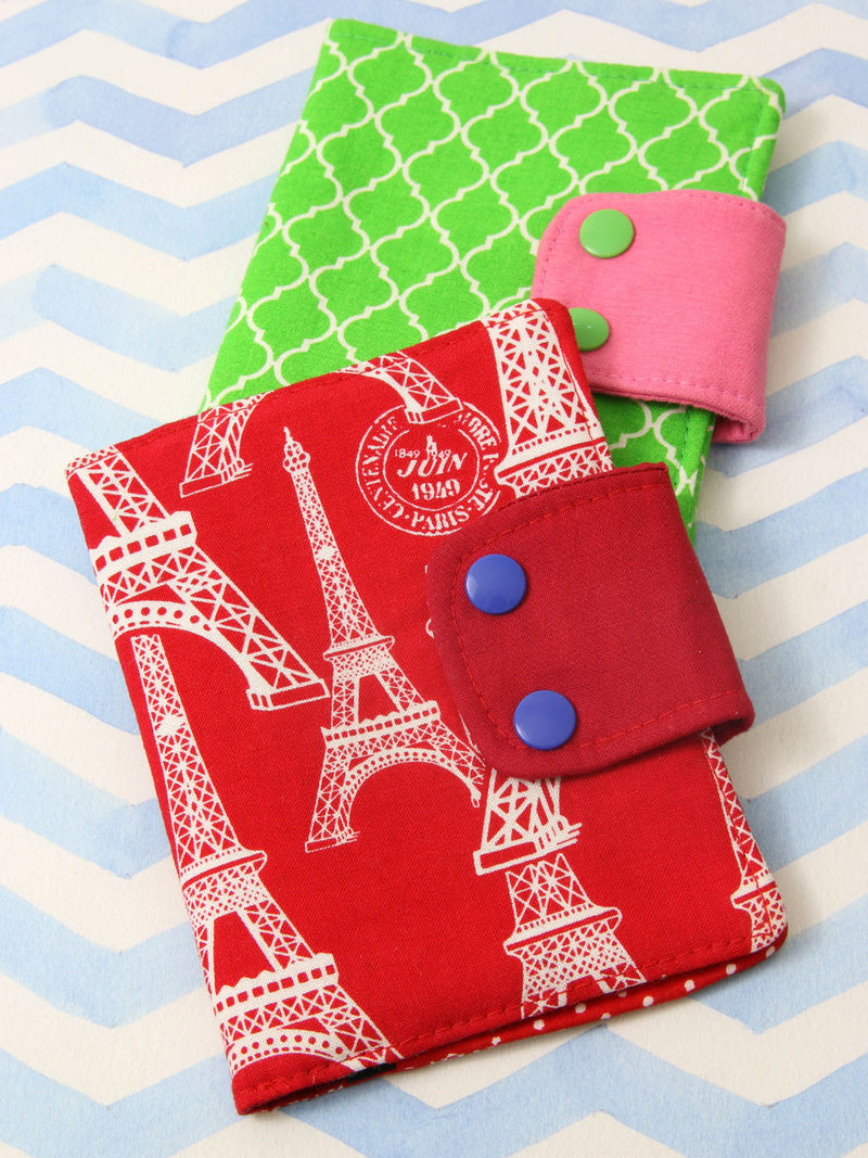 passport cover pattern