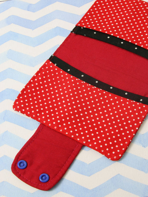 passport cover sewing pattern INSIDE